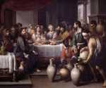 The Marriage at Cana by  Bartolome Esteban Murillo (Painting ID: CL-0115-KA)
