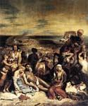 The Massacre at Chios by  Eugene Delacroix (Painting ID: CM-1584-KA)