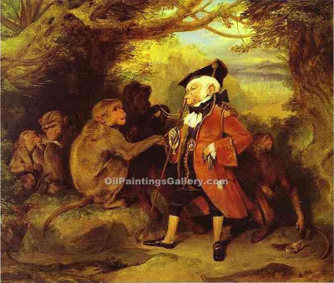 """The Monkey Who Had Seen the World"" by  Sir Edwin Henry Landseer"