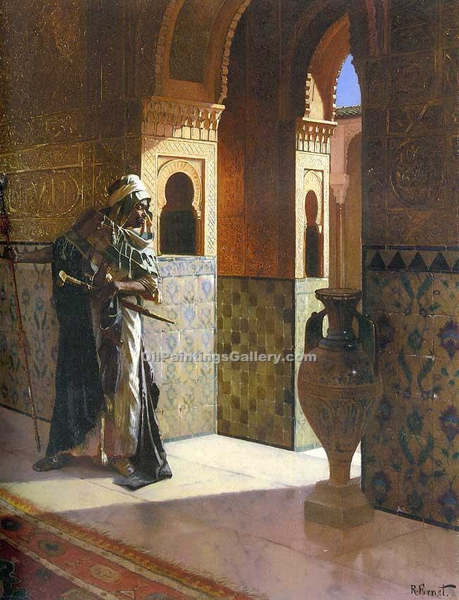 """The Moorish Guard"" by  Rudolf Ernst"