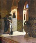 The Moorish Guard by  Rudolf Ernst (Painting ID: ER-0128-KA)