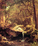 The Mountain Brook by  Albert Bierstadt (Painting ID: LA-3415-KA)