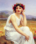 The Muse by  Guillaume Seignac (Painting ID: ED-0799-KA)