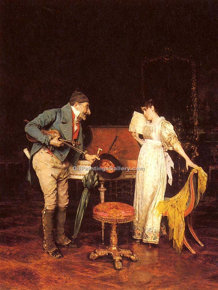 """The Music Lesson"" by  Federico Andreotti"