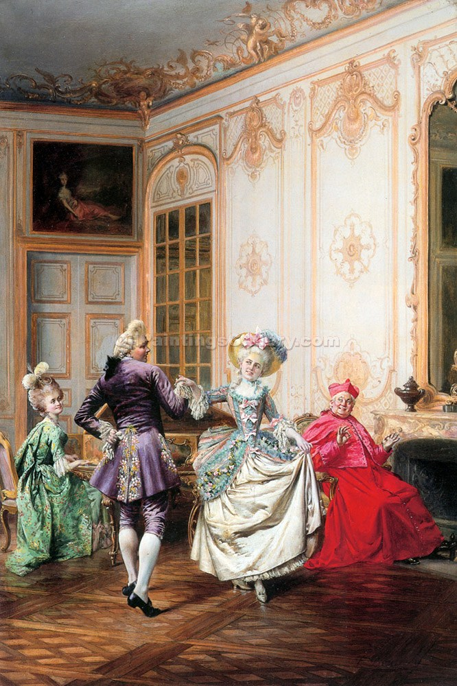 The Musical Interlude by FrancoisBrunery | Canvas Paintings - Oil Paintings Gallery