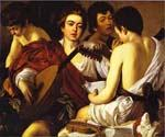 The Musicians 20 by    Caravaggio (Painting ID: CM-0620-KA)