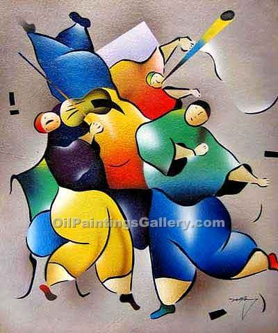 Buy Abstract Figure Oil Painting Online - Figurative Reproduction Paintings
