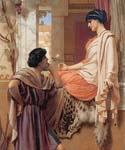 The Old Old Story 56 by  John William Godward (Painting ID: CL-4356-KA)