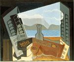 The Open Window by  Juan Gris (Painting ID: SL-0801-KA)