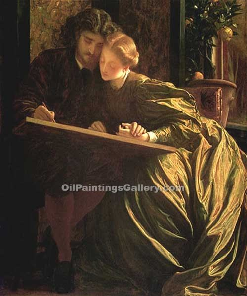 The Painter s Honeymoon by Leighton Frederic | Paintings Of Famous Artists - Oil Paintings Gallery