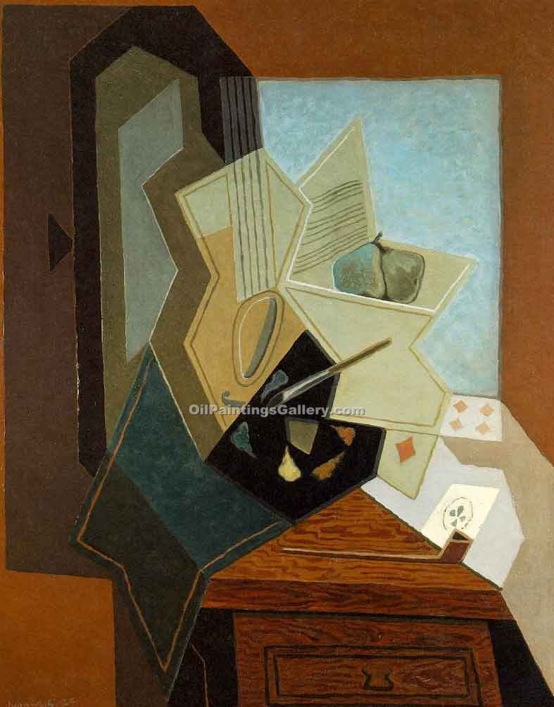 """The Painter s Window"" by  Juan Gris"