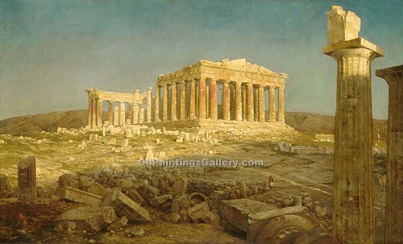 """The Parthenon"" by  Frederic Edwin Church"