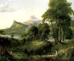 The Pastoral or Arcadian State by  Thomas Cole (Painting ID: LA-5641-KA)