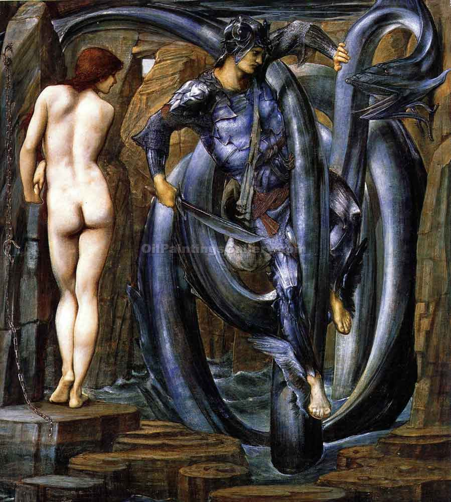 """The Perseus Series the Doom Fulfilled"" by  Edward Burne Jones"