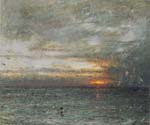 The Phantom Ship by  Albert Goodwin (Painting ID: LA-1932-KA)