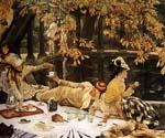The Picnic 82 by  James Tissot (Painting ID: CL-4282-KA)