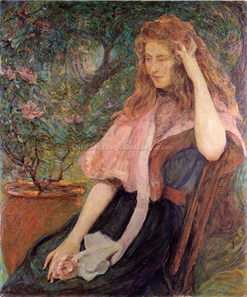 """The Pink Cape"" by  Robert Reid"