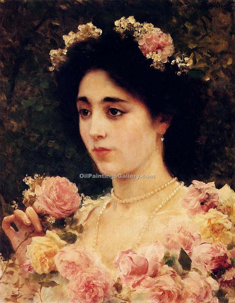 """The Pink Rose"" by  Federico Andreotti"