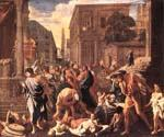 The Plague at Ashod by  Nicolas Poussin (Painting ID: CM-1442-KA)