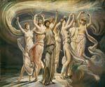 The Pleiades by  Elihu Vedder (Painting ID: CL-0810-KA)