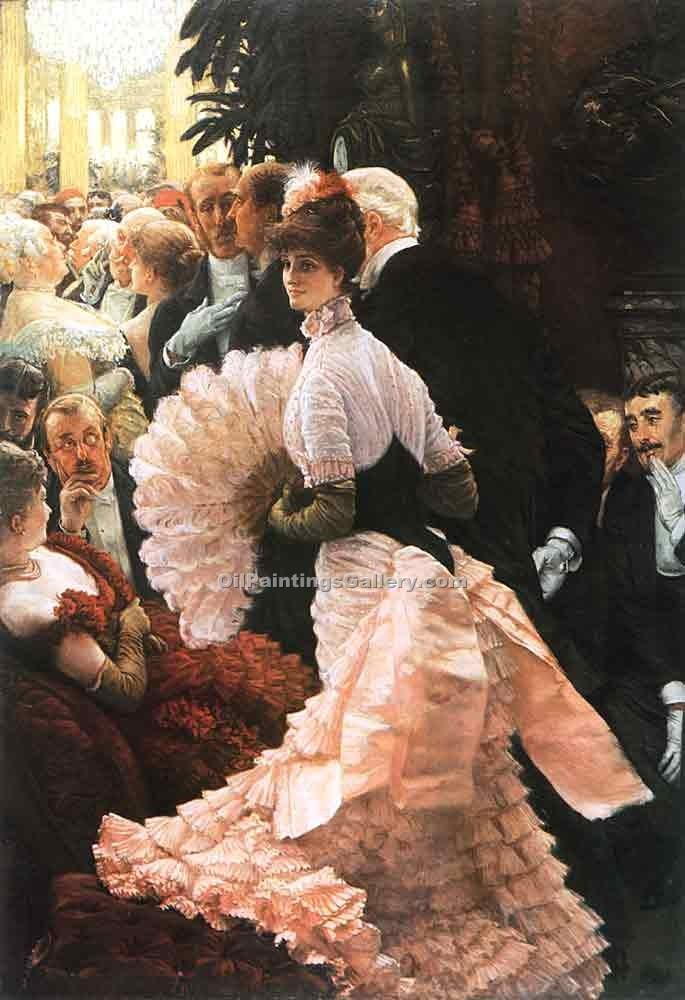 """The Political Lady"" by  James Tissot"