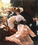The Political Lady by  James Tissot (Painting ID: CL-4242-KA)