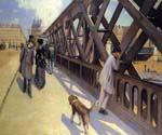 The Pont du Europe by  Gustave Caillebotte (Painting ID: CI-0734-KA)