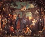 The Pool of Bethesda by  William Hogarth (Painting ID: CM-3058-KA)