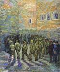 The Prison Courtyard by  Vincent Van Gogh (Painting ID: VG-0295-KA)