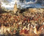 The Procession to Calvary by  Pieter the Elder Brueghel (Painting ID: CL-6007-KA)
