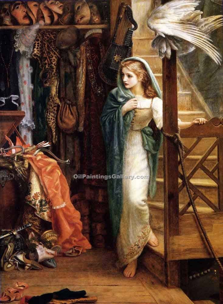 """The Property Room"" by  Arthur Hughes"