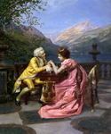 The Proposal by  Francois Brunery (Painting ID: ED-0323-KA)