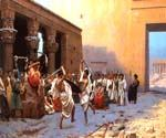 The Pyrrhic Dance by  Jean Leon Gerome (Painting ID: CI-1412-KA)