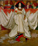The Queen of Hearts by  John Byam Liston Shaw (Painting ID: ED-0728-KA)