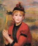 The Rambler by  Pierre Auguste Renoir (Painting ID: CL-4462-KA)