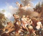 The Rape of Europa 12 by  Francois Boucher (Painting ID: CM-0912-KA)