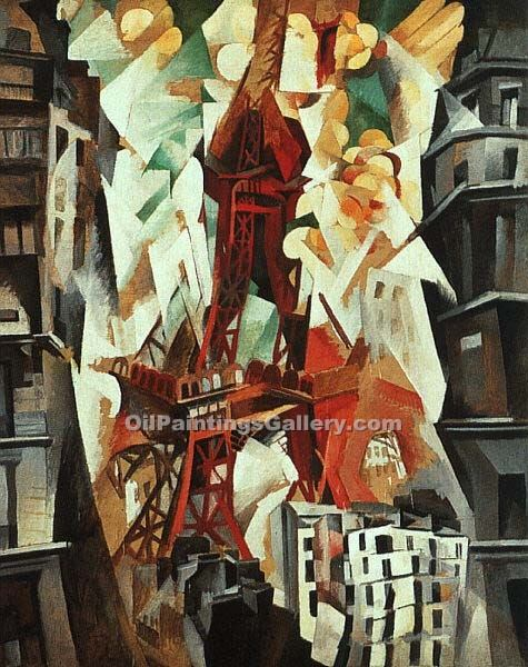 """The Red Tour"" by  Robert Delaunay"