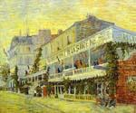 The Restaurant dela Sirene by  Vincent Van Gogh (Painting ID: VG-0188-KA)