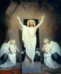 The Resurrection by  Carl Heinrich Bloch (Painting ID: DV-2052-KA)