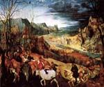 The Return of the Herd by  Pieter the Elder Brueghel (Painting ID: CL-6015-KA)