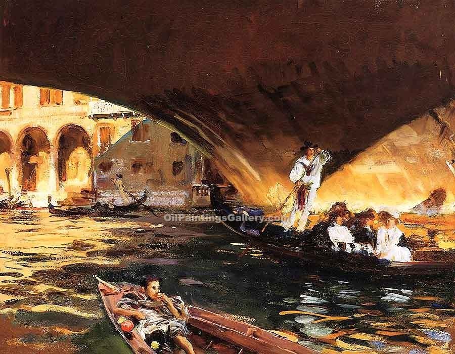 """The Rialto Grand"" by  John Singer Sargent"