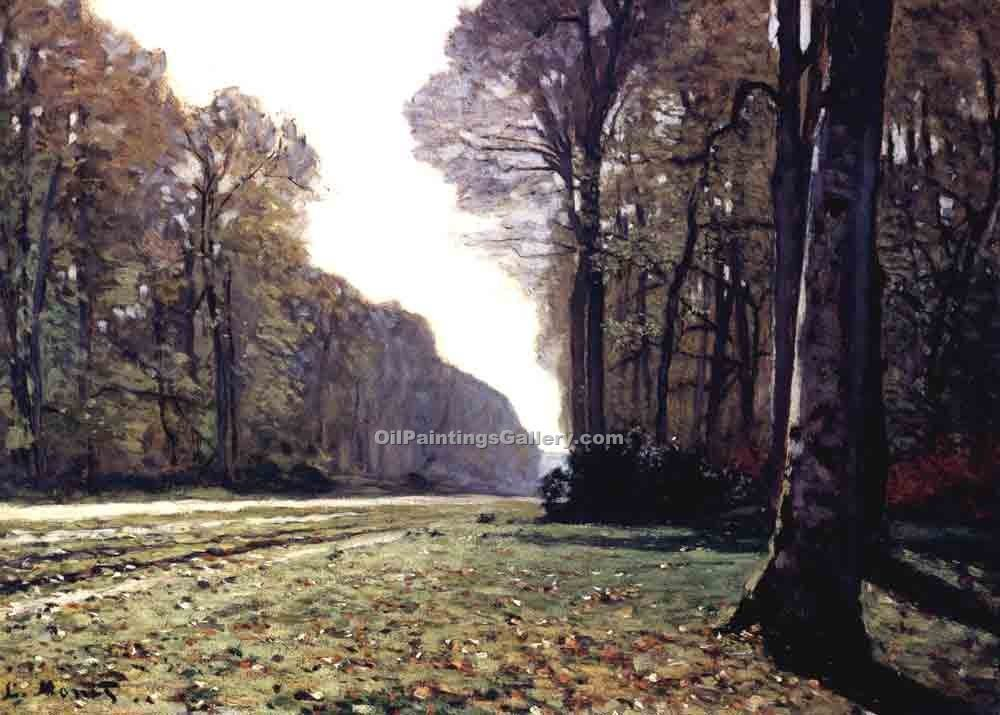 """The Road to Chailly"" by  Claude Monet"