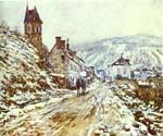 The Road to Vetheuil by  Claude Monet (Painting ID: MO-1260-KA)