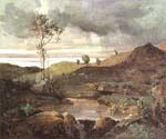 The Roman Campagna in Winter by  Jean Baptiste Corot (Painting ID: CO-0870-KA)
