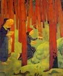 The Sacred Forest by  Paul Serusier (Painting ID: EI-0508-KA)