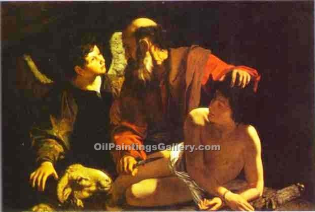 """The Sacrifice of Isaac 28"" by    Caravaggio"