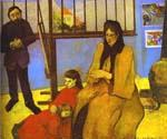 The Schuffenecker Family by  Paul Gauguin (Painting ID: GA-0260-KA)