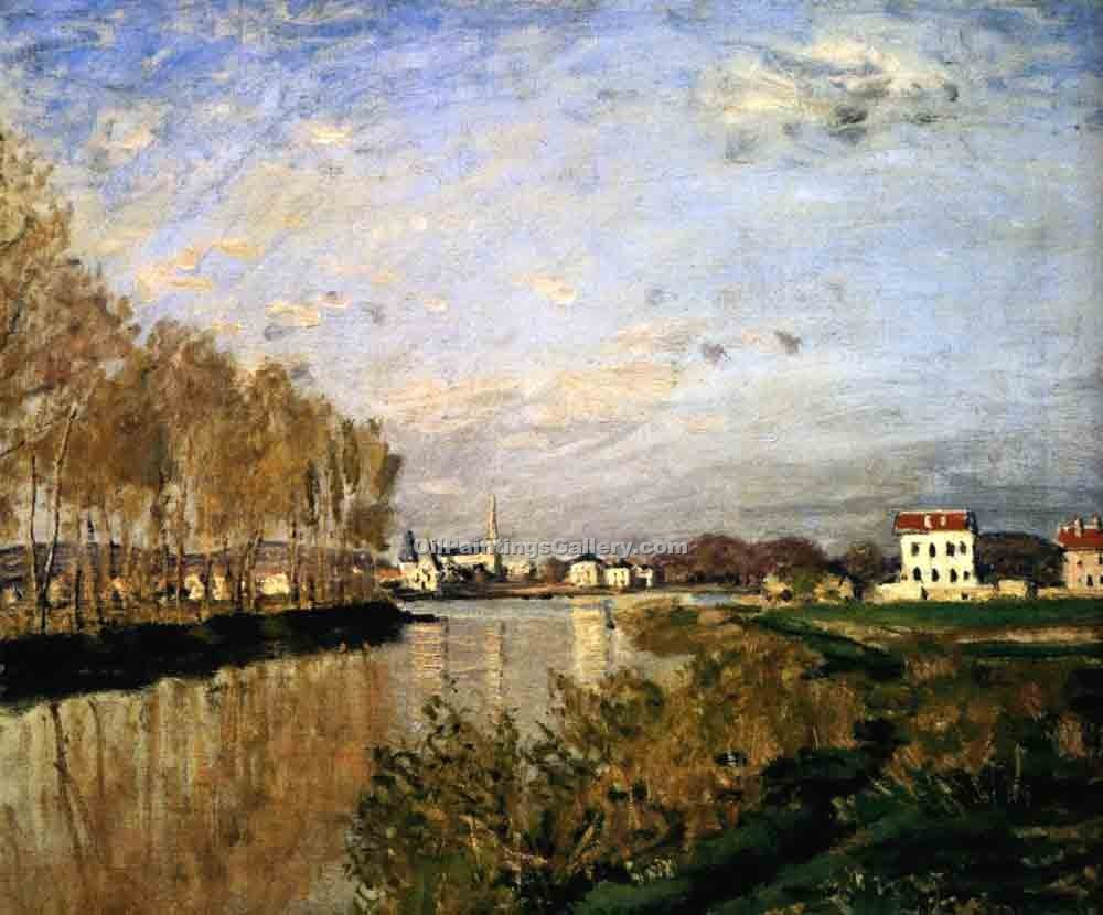 """The Seine at Argenteuil 08"" by  Claude Monet"