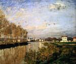 The Seine at Argenteuil 08 by  Claude Monet (Painting ID: MO-0908-KA)