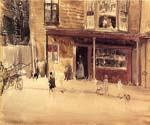 The Shop an Interior by  James McNeill  Whistler (Painting ID: CL-1520-KA)